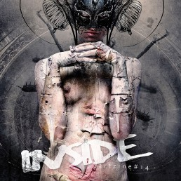 INSIDE artzine 14, cover, Seth Siro Anton, insect woman, dark art