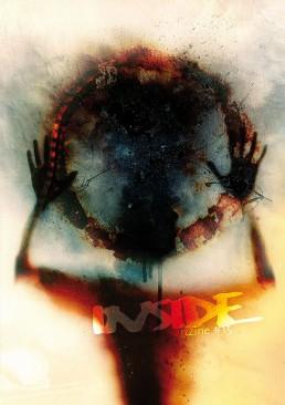 INSIDE artzine 15, Cover, hands, fire, dark art