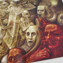 INSIDE atzine 13, Chris Mars, surreal group, dark art