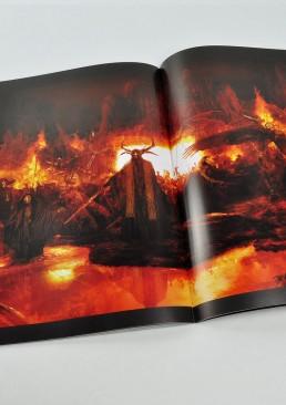 INSIDE artzine 14, hell is full, fire