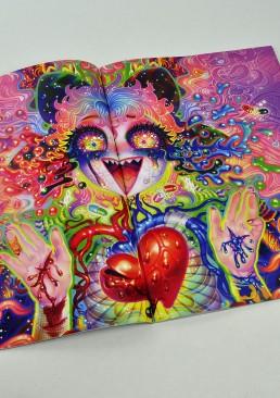 INSIDE artzine 17, LSD, Yukaman, Japan, dark art