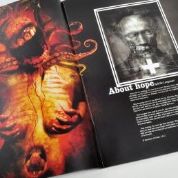 INSIDE artzine 16, squit, clint eastwood, dark art
