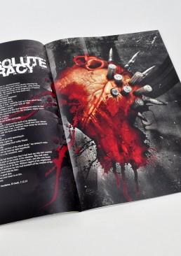 INSIDE artzine 17, heart and ammunition