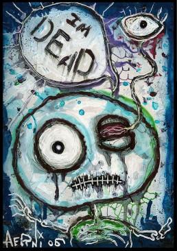 INSIDE artzine 14, comic, dead, dark art