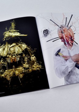INSIDE artzine 15, kuksi, nails, dark art