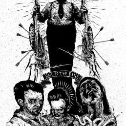 INSIDE artzine 15, black and white, navete, dark art