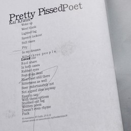 INSIDE artzine 18, pissed poet, text, dark art