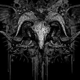 INSIDE artzine 17, skull, black, dark art