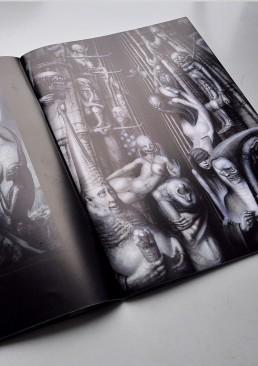 INSIDE artzine 18, H.R. Giger, Alister Crowley