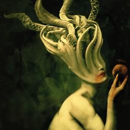 INSIDE artzine 14, woman, lovecraft