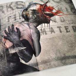 INSIDE artzine 17, Seth Siro Anton, digital manipulation
