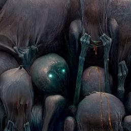 INSIDE artzine 19, Kumpan, Subway, Dark Art