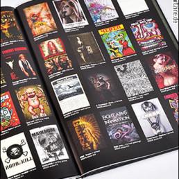 reviews, cover, magazines, art books, fanzines, dark art magazines