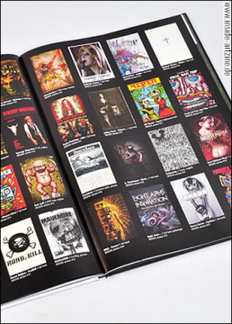 reviews, cover, magazines, art books, fanzines, dark art magazines