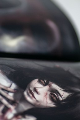 artbook, japan, SBRGENk, cute girls and violence, dark art