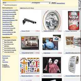 ebay, terror, manipulation, fake website of ebay, shotgun, artscum, dark art magazine