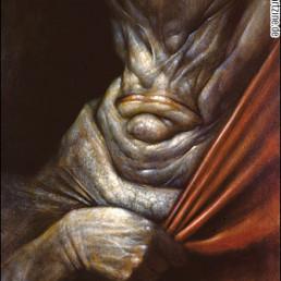 Chet Zar, USA, the dork, bizarre portrait, dark art magazine