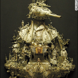 Kris Kuski, USA, sculture, tank, artscum