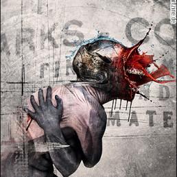 Seth Siro Anton, Greece, bizarre, exploding face, cold, dark art magazine