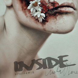 Cover, Cristina Otero, Spain, female, beauty, pain, Dark art magazine