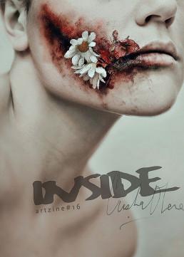 Cover, Cristina Otero, Spain, female, beauty, pain, Dark art magazine