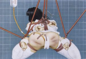 Trevor Brown, medical bondage, dark art