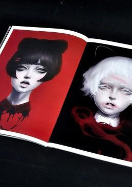 INSIDE artzine 21, two girls, japan