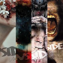 INSIDE artzine Cover number 13, 14, 15 and 16, special offer, magazine bundle, dark art magazine