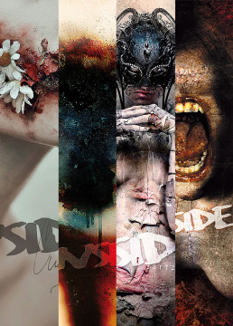 INSIDE artzine Cover number 13, 14, 15 and 16, special offer, magazine bundle, dark art magazine