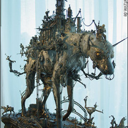 Kris Kuski (USA), sculpture, dog, detailed, artscum