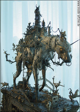 Kris Kuski (USA), sculpture, dog, detailed, artscum