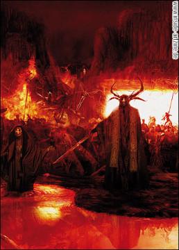 Patrick Byers, Canada, hell, fire, sword, artscum
