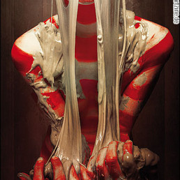 Photography, slime, naked, stripped, dark art magazine