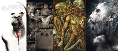 INSIDE artzine #18, dark art magazine, H.R. Giger, Chris Mars, Seth Siro Anton
