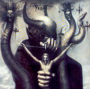 giger, record cover, celtic frost, ELP, dark art