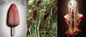 preview INSIDE 21, cover, slime. dark art
